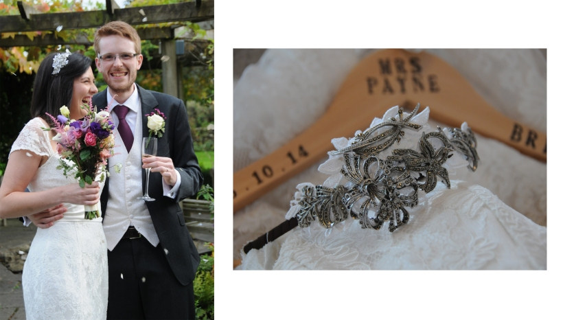 Rebecca bespoke bridal side tiara