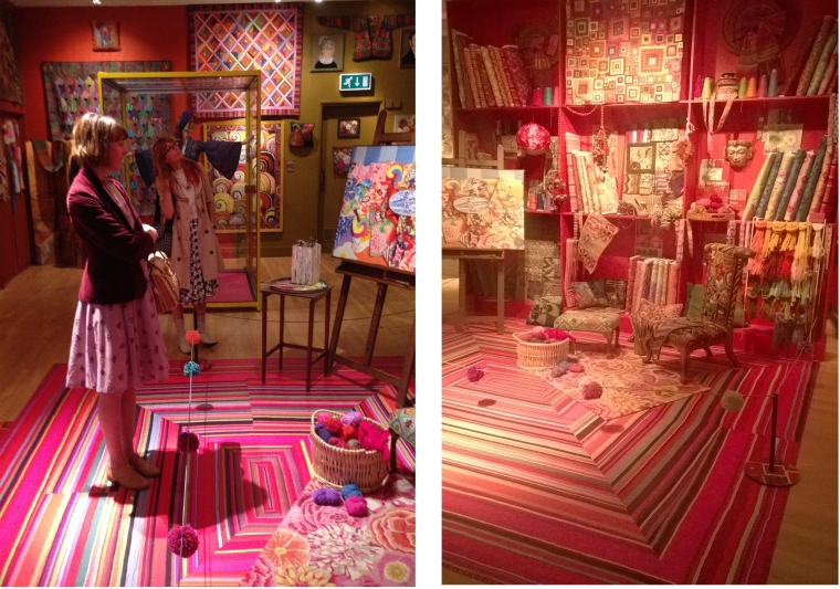 Kaffe Fassett exhibition Aug 2014