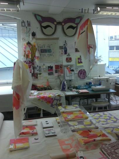 Sarika Thakorlal at The Textile Studio at SVA