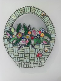 Cleo Mussi mosaics at Frogmarsh Mill