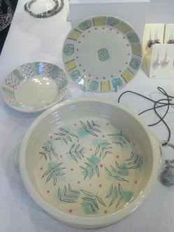 Annie Hewitt ceramics at Frogmarsh Mill