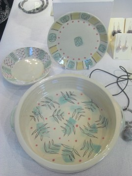 Annie Hewitt ceramics at Frogmarsh Mill