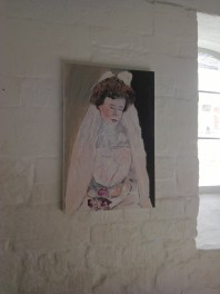Norma Doveton at St. Mary's Mill, Chalford