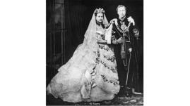Queen Alexandria & Edward wedding day