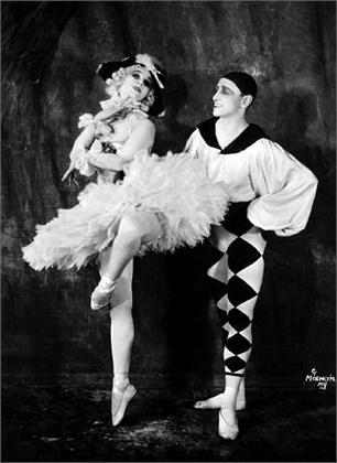 Ballet Russes Anna Pavlova & Laurent Novikoff