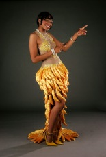 Josephine Baker inspired costume by Deirdra at Rhianna's Studio