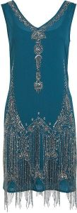 Miss Selfridge flapper dress