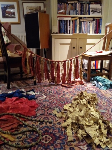 DIY fabric garland bunting (6)