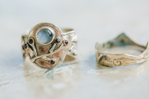Bespoke engagement ring & wedding band by Elaine Day Jewellery. Photo by Camilla Reynolds Photography (5)